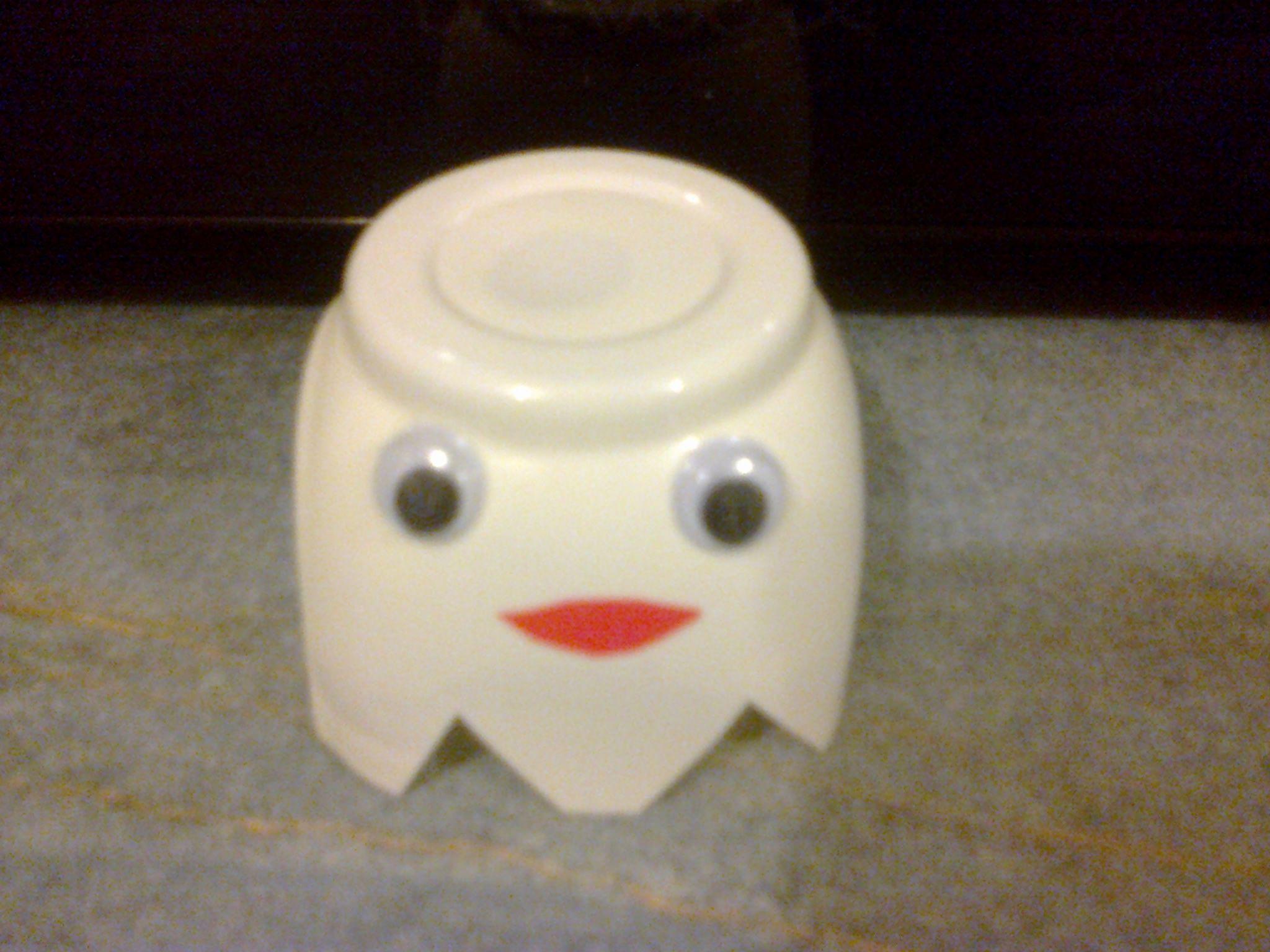 fantome pot de yaourt